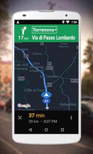 Navigatore per Google Maps Go 2