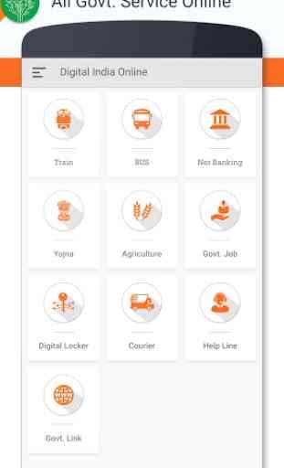 Online Seva : Digital Services India 3