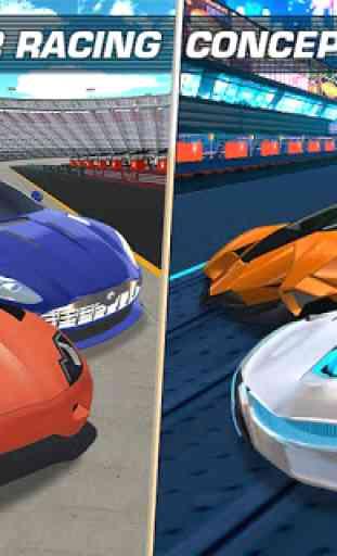 REAL Fast Car Racing: Asphalt Road & Crazy Track 4
