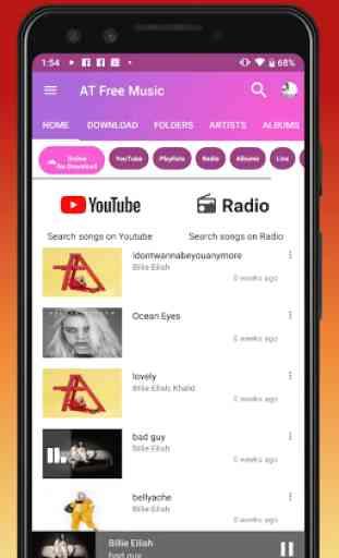 Scarica Musica Mp3. Giocatore gratuito YouTube. 4