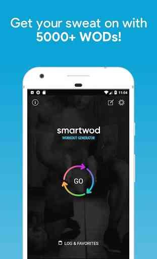 SmartWOD Workout Generator 1