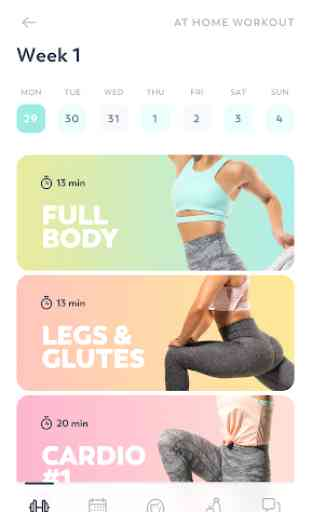 StrongHer: Female Fitness & Women Workout 2