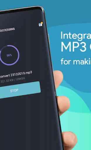 Video MP3 Converter - Convert music high quality 3