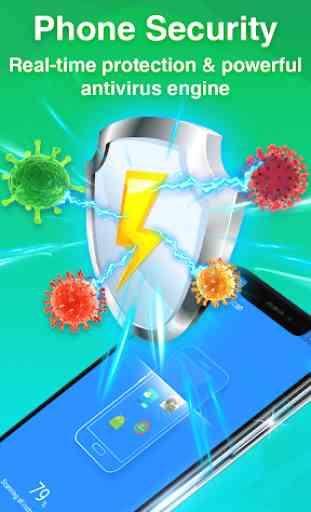 Virus Cleaner - Antivirus Free & Phone Cleaner 1