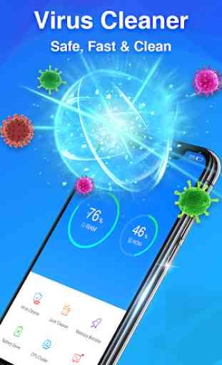 Virus Cleaner - Antivirus Free & Phone Cleaner 2