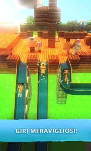 Water Park Craft GO: Scivoli Acquatici Avventura 2