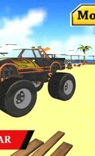 Water Park Truck Stunts and Race : Water Adventure 3