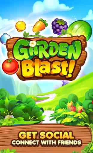 Garden Blast New 2019! Match 3 in a Row Games Free 2