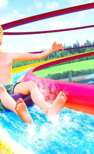 acqua Parco Diapositiva Da corsa Avventura 1