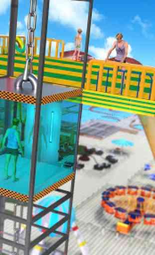 acqua Parco Diapositiva Da corsa Avventura 4