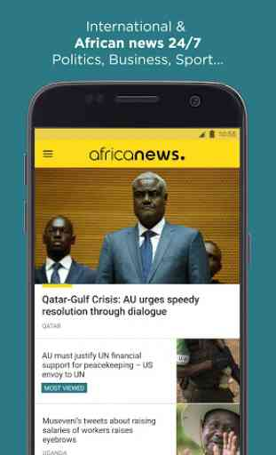 Africanews - Daily & Breaking News in Africa 1