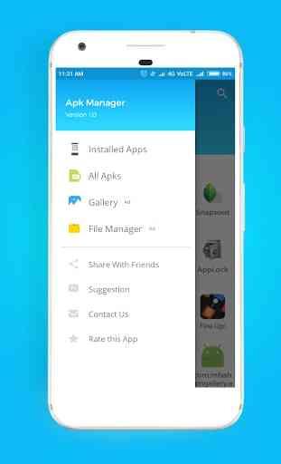 Apk Installer / Apk Manager / Apk Sharer 2