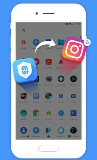Blocco Sicurezza App, Blocco Impronta Digitale 4