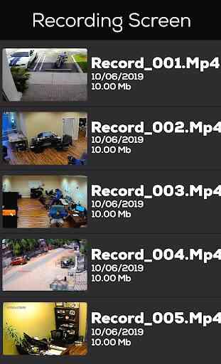 CCTV Camera Recorder 4