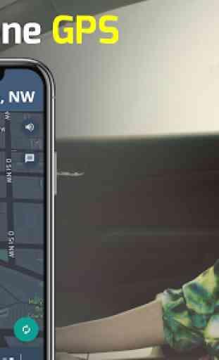 GPS Navigazione - Mappe, Guida Indicazioni, Route 1