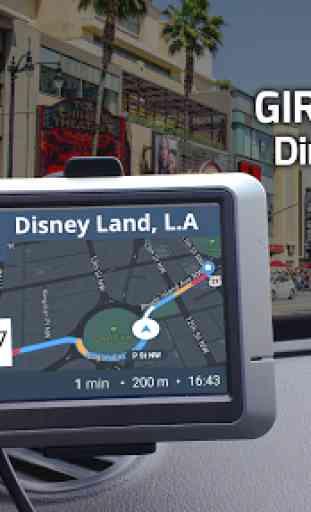 GPS Navigazione - Mappe, Guida Indicazioni, Route 3
