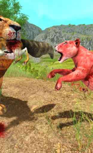 Lion Simulator Attack 3d Wild Lion Games 3