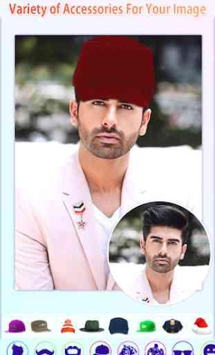 Men Photo Editor - HairStyles,Moustache,Sunglasses 4