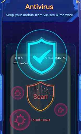 Nox Security - Antivirus, Clean Virus, Booster 2