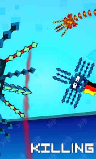 Pixel Sword Fish io 2