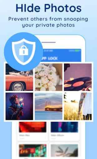 Protezione della privacy(AppLock) 2