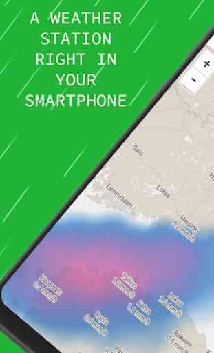 Radar meteo — Mappe e avvisi live 1