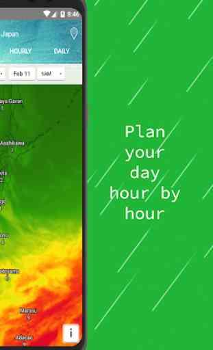 Radar meteo — Mappe e avvisi live 4