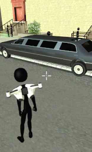 Real Stickman Miami Mafia Crime : Fight To Survive 2