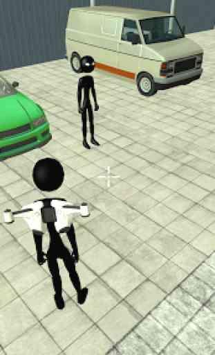 Real Stickman Miami Mafia Crime : Fight To Survive 4