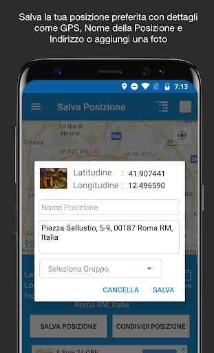 Salva Posizione GPS 2