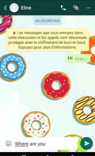 Sfondi per WhatsApp - Chat Sfondo 3