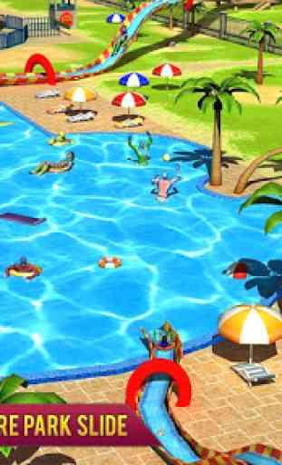 Super Eroe acqua Avventura Parco Diapositiva 3