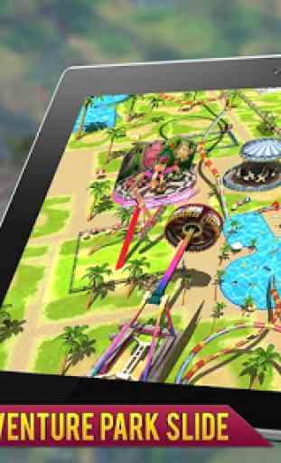 Super Eroe acqua Avventura Parco Diapositiva 4
