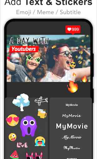 Video Editor for Youtube & Video Maker - My Movie 4