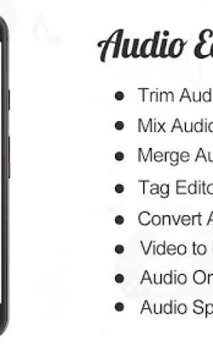 Audio Editor : Cut,Merge,Mix Extract Convert Audio 1