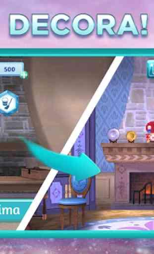 Avventure di Frozen di Disney: ungioco match-3 4