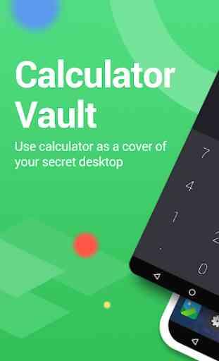 Calculator Vault : App Hider - Hide Apps 2