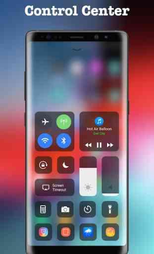 Control Center OS 12 - Phone X 1
