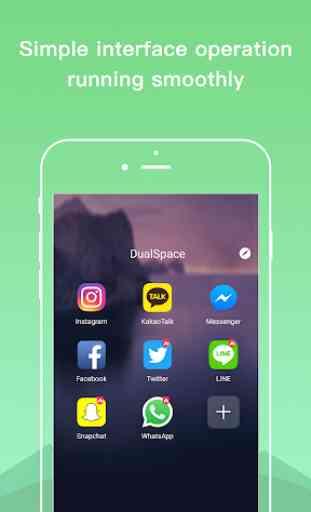 Dual Space - Multiple Accounts & App Cloner 1