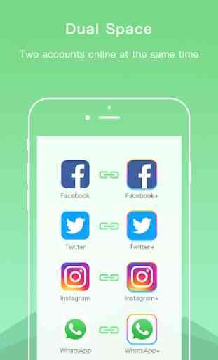 Dual Space - Multiple Accounts & App Cloner 2