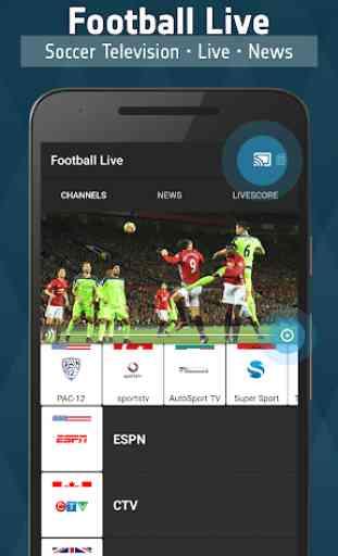 Football TV Live - Sport Television 1