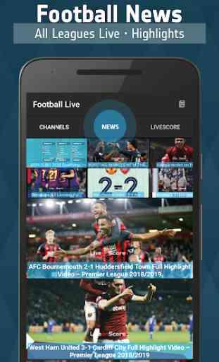 Football TV Live - Sport Television 2