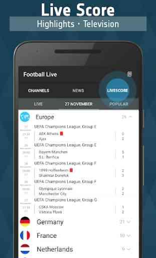 Football TV Live - Sport Television 3