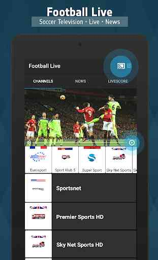 Football TV Live - Sport Television 4