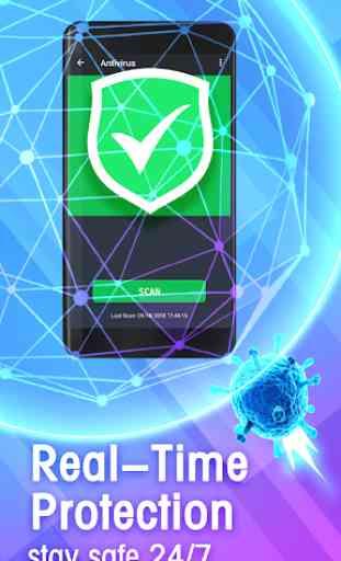 Free Antivirus 2020 - Clean Virus 2