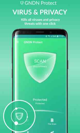 GNDN Protect - TOP Antivirus, Booster & Cooler 1
