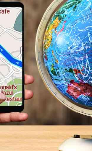 GPS Navigazione & Carta geografica Direzione 1