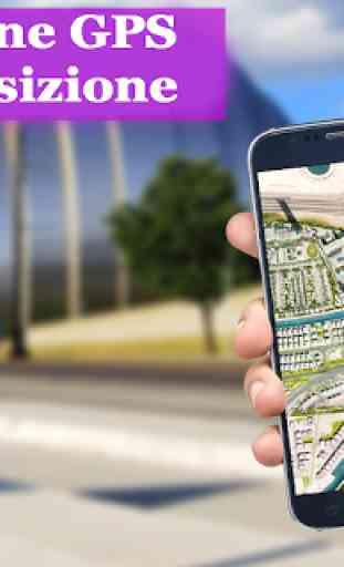 GPS Navigazione & Carta geografica Direzione 2
