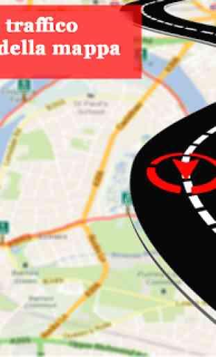 GPS Navigazione & Carta geografica Direzione 4