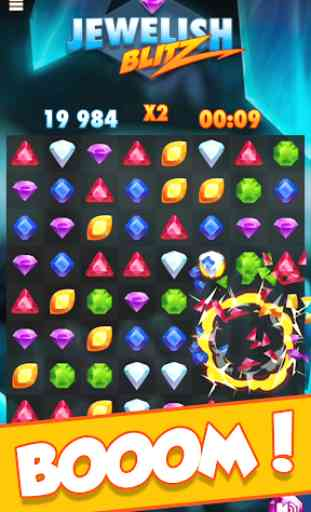 Jewelish Blitz Match 3 GRATIS 3